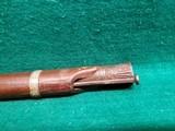 "ANTIQUE INDIAN TORADOR MATCHLOCK RIFLE. CIRCA 16TH-19TH CENTURY. FLARED 53"" BARREL. COLLECTIBLE RELIC - 17 of 20"