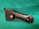 SERVICE MFG. CO - YONKERS, NY. 1911. 5 INCH. LEATHER LINED PLASTIC SWIVEL HOLSTER. ORIGINAL MILITARY MP/NYPD POLICE ISSUE. MODEL# 2425 - .45 ACP - 8 of 9