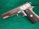 COLT - GOVERNMENT MODEL 1911. MK IV/SERIES' 80. STAINLESS. W/MAG. VERY NICE! - .45 ACP