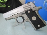 Colt Mustang Pocketlite NITELITE .380 acp 1994 1 0f 200 Custom Shop Complete LNIB
