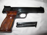 smith and wesson model 41 semiauto target 22 long rifle pistol - 5 of 8