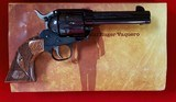 Ruger Vaquero (JOHN WAYNE COMMEMORTIVE) Engraved 45lc
