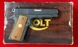 """Pending Sale"" Colt Light Weight Officer's MKIV Series 80 45acp"