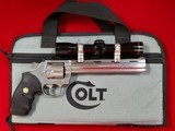 Colt Whitetailer II W/Leupold M-8 4x Extended Eye Relief 357mag