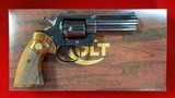 "Colt Python 4"" BLUE Box and Papers"