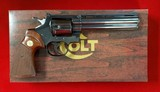 "Colt Python 6"" BLUE 357mag Box and Papers"