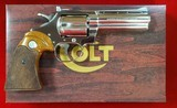 Colt Diamondback 22lr Nickel 4""