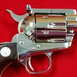 """Sold"" Colt New Frontier 7-1/2"" 357mag Nickel - 6 of 15"