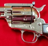 """Sold"" Colt New Frontier 7-1/2"" 357mag Nickel - 10 of 15"