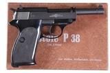 """WALTHERP3822LR(RARE)5"""" BARRELBLACK FINISHMFD YEAR 1969"""
