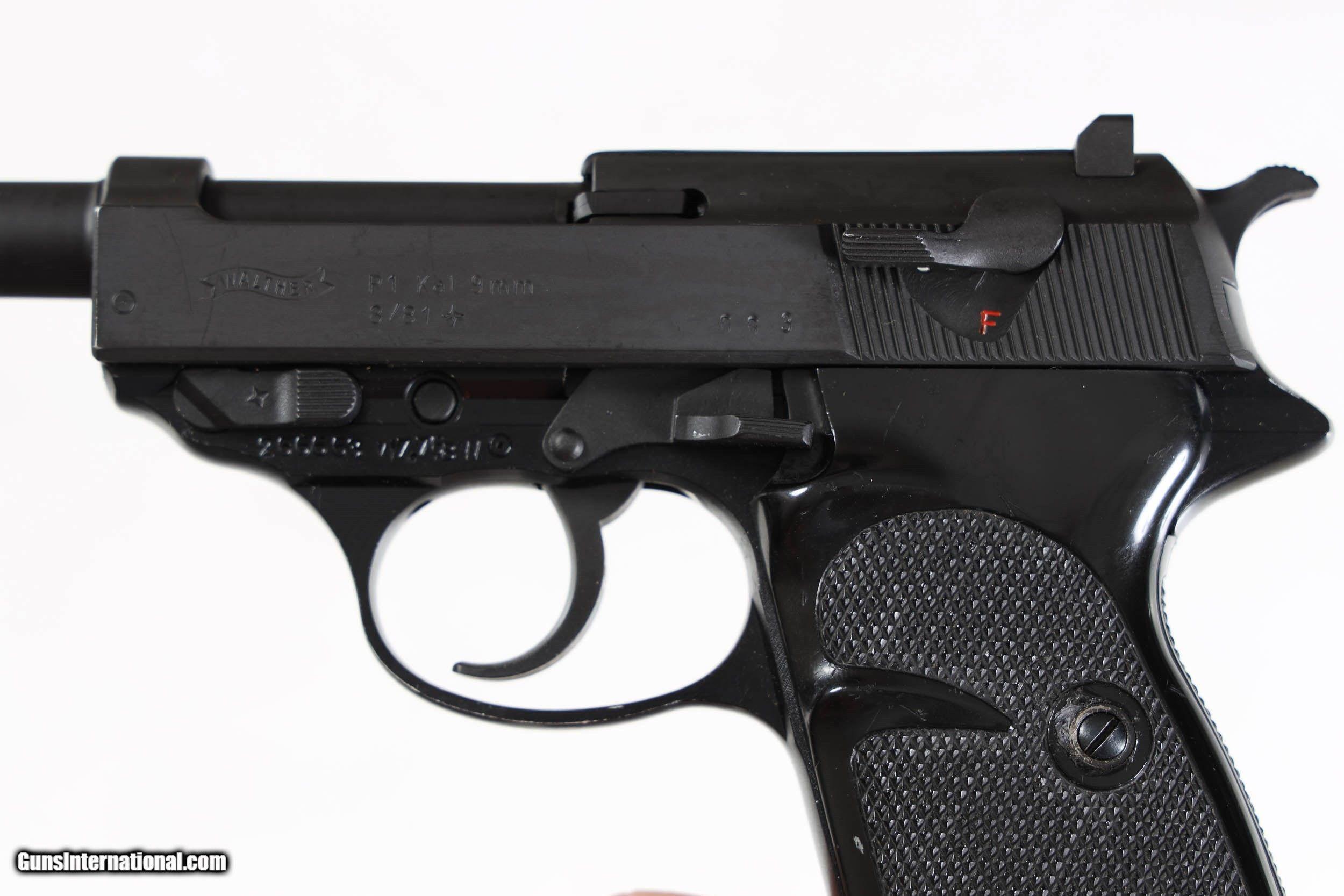 Walther P1 dating nopeus dating lomake malli