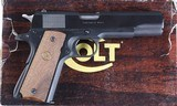 """PENDING"" COLT GOVERNMENT 1911 SERIES 80
