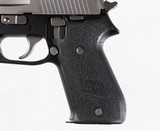 """SIG SAUERP220STAINLESS SLIDE4 1/2""""7 ROUNDS - 7 of 10"""