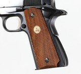 """COLTGOVERNMENT MK IV SERIES 70BLUED5""""DIAMOND CHECKERED WOOD - 9 of 12"""