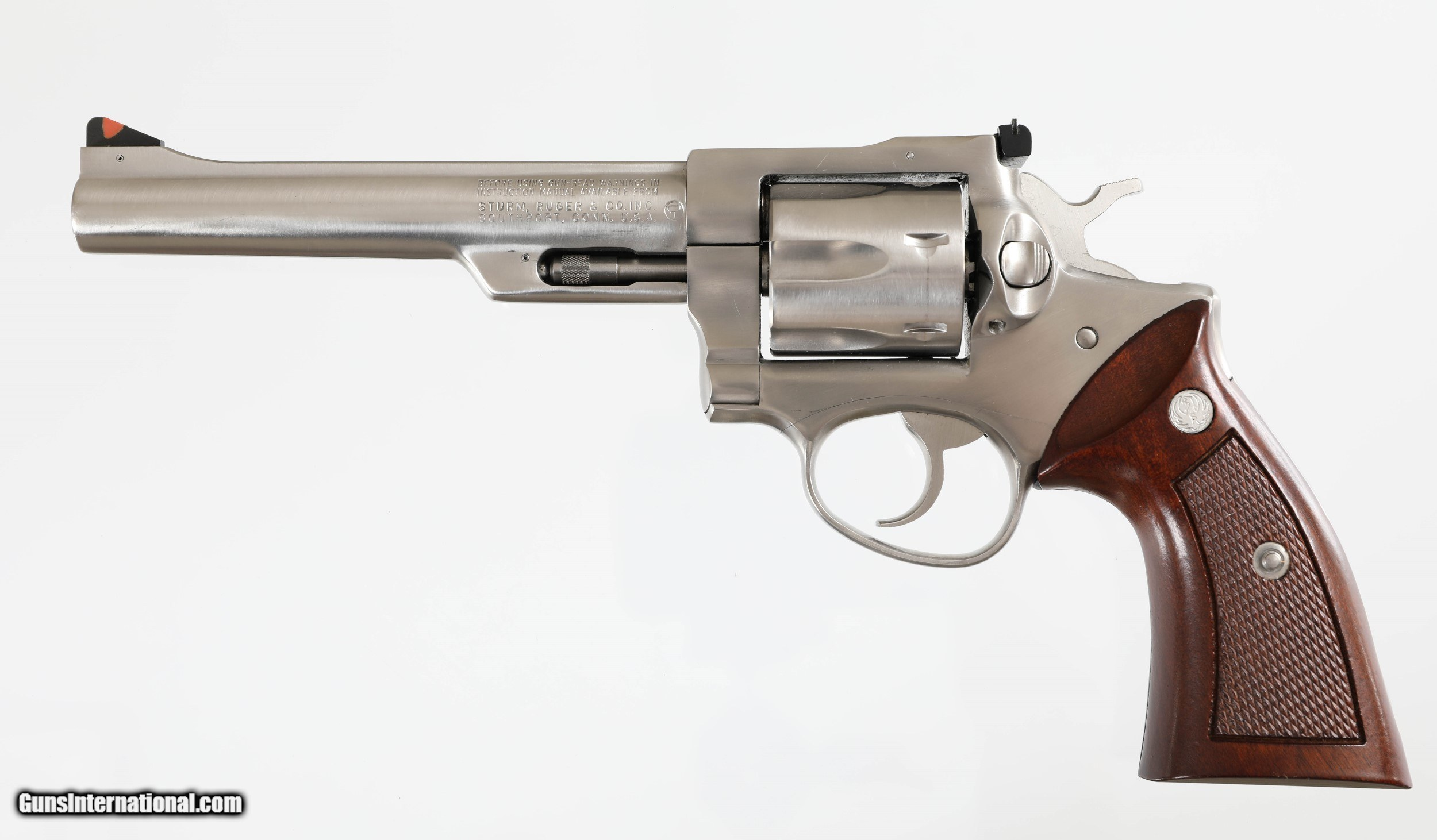 RUGER SECURITY SIX STAINLESS 6