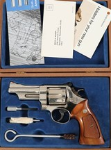 """SMITH & WESSON27-24""""NICKEL357MAG6SHOTWOODENDISPLAY BOX - 14 of 15"""