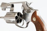 """SMITH & WESSON60STAINLESS1 7/8""""38SPLWOOD GRIPSEXCELLENT CONDITIONNO BOX - 10 of 10"""