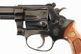 """SMITH & WESSON34-1BLUED4""""22LR6 ROUNDWOOD GRIPSEXCELLENTNO BOX - 6 of 12"""