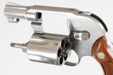 """SMITH & WESSON649STAINLESS1 7/8""""38SPL5WOOD GRIPSVERY GOODNO BOX - 13 of 13"""