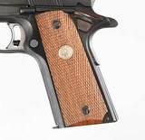 """COLT 1911 NATIONAL MATCH BLUED 5"""" 45 ACP 7 ROUND CHECKERED WOOD - 4 of 12"""
