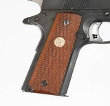 """COLT 1911 NATIONAL MATCH BLUED 5"""" 45 ACP 7 ROUND CHECKERED WOOD - 2 of 12"""