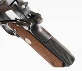 """COLT 1911 NATIONAL MATCH BLUED 5"""" 45 ACP 7 ROUND CHECKERED WOOD - 10 of 12"""