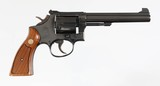 """SMITH AND WESSONMODEL 14-338 SPECIAL6"""" BARRELORIGINAL FACTORY BOX WITH PAPERS"""