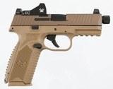 FN 509 Tactical W/ Vortex Viper & Treaded Barrel9mm