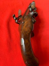 Double barrel flintlock pistol - 5 of 9