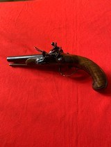 Double barrel flintlock pistol - 1 of 9