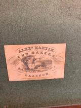 Alexander Martin gun maker Glasgow rare cases untouched pistols - 1 of 1