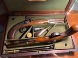 Alexander Martin Glasgow rare cased pistols