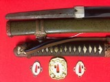 Gunto officer sword