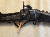 1853 Slant Breach Sharps style approximately 52 caliber rifle - 1 of 15