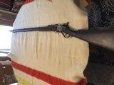 1853 Slant Breach Sharps style approximately 52 caliber rifle - 15 of 15