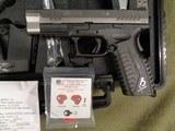 SPRINGFIELD ARMORY XDM 40 S&W 4.5 PISOL BITONE XDM9212HCSP NEW IN BOX CASE 2 CLIPS