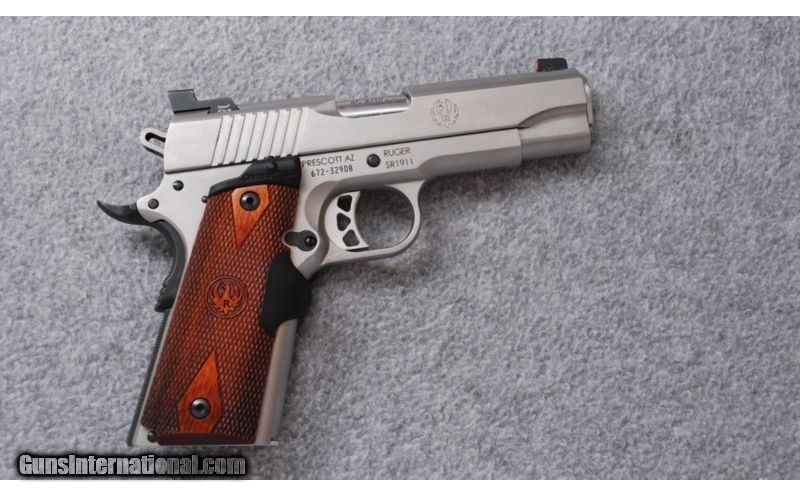 Ruger ~ SR1911 ~ Crimson Trace Laser Sight ~  45 ACP