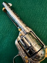 Colt 2nd Gen Single Action Army .45 LC Engraved by Brian Mears - 8 of 15