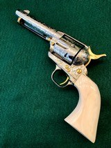 Colt 2nd Gen Single Action Army .45 LC Engraved by Brian Mears - 5 of 15