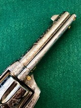 Colt 2nd Gen Single Action Army .45 LC Engraved by Brian Mears - 4 of 15
