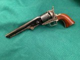 """1971 Navy Colt .36 cal 2nd generation [ Rare ] condition like new / fired once / 7 1/2"""" Barrel - 4 of 6"""
