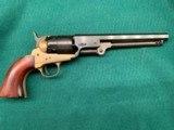 "1851 Armi San Marco Navy Replica .44 Cal Percussion SA Revolver with 7,5"" Barrel."