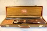 Winchester Model 23 Golden Quail Pigeon Grade Double Barrel Shotgun 28 Gauge