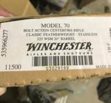 Winchester 70 Featherweight 325 WSM SS *RARE* - 2 of 14