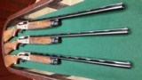 """BERETTA - A400 ACTION SET OF 3 - 12, 20, and 28 ga 28"""" A UNIQUE 1 OF A KIND WITH HAND ENGRAVING AND A HAND BUILT CASE ( SELLING AT COST!!"""