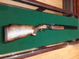 "Beretta - 686 Onyx trap 12ga 30"" this is a UNIQUE PIECE OF WOOD FOR THE TRUE TRAP SHOOTERS.