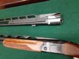 BERETTA 686 ONYX X-TRAP COMBO 32in O/U and a single 34in barrel set - 2 of 11