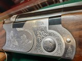 """Beretta silver pigeon """"GALLERY EDITION""""LEFT HANDED 12ga 30in short LOP 13 - 3/4 - 11 of 14"""