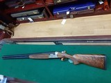 """Beretta silver pigeon """"GALLERY EDITION""""LEFT HANDED 12ga 30in short LOP 13 - 3/4 - 1 of 14"""