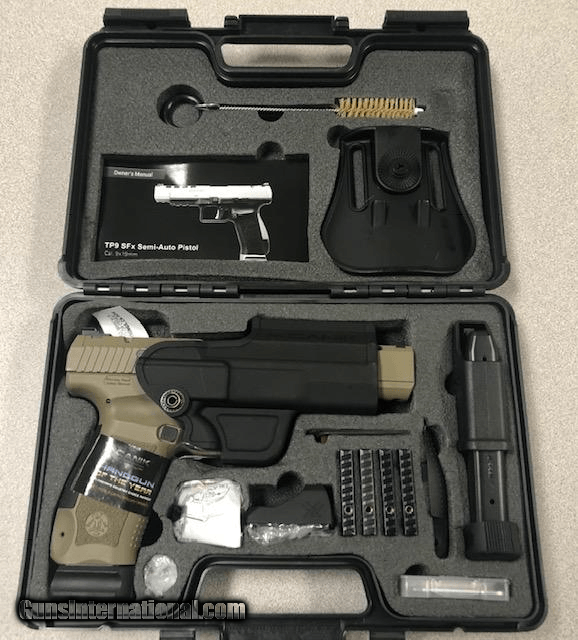 Century HG3774DVN TP9SFx Canik with Viper Red Dot 9mm Luger Double